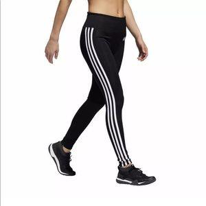 NEW ADIDAS Climalite Women's 3 Stripe Tight